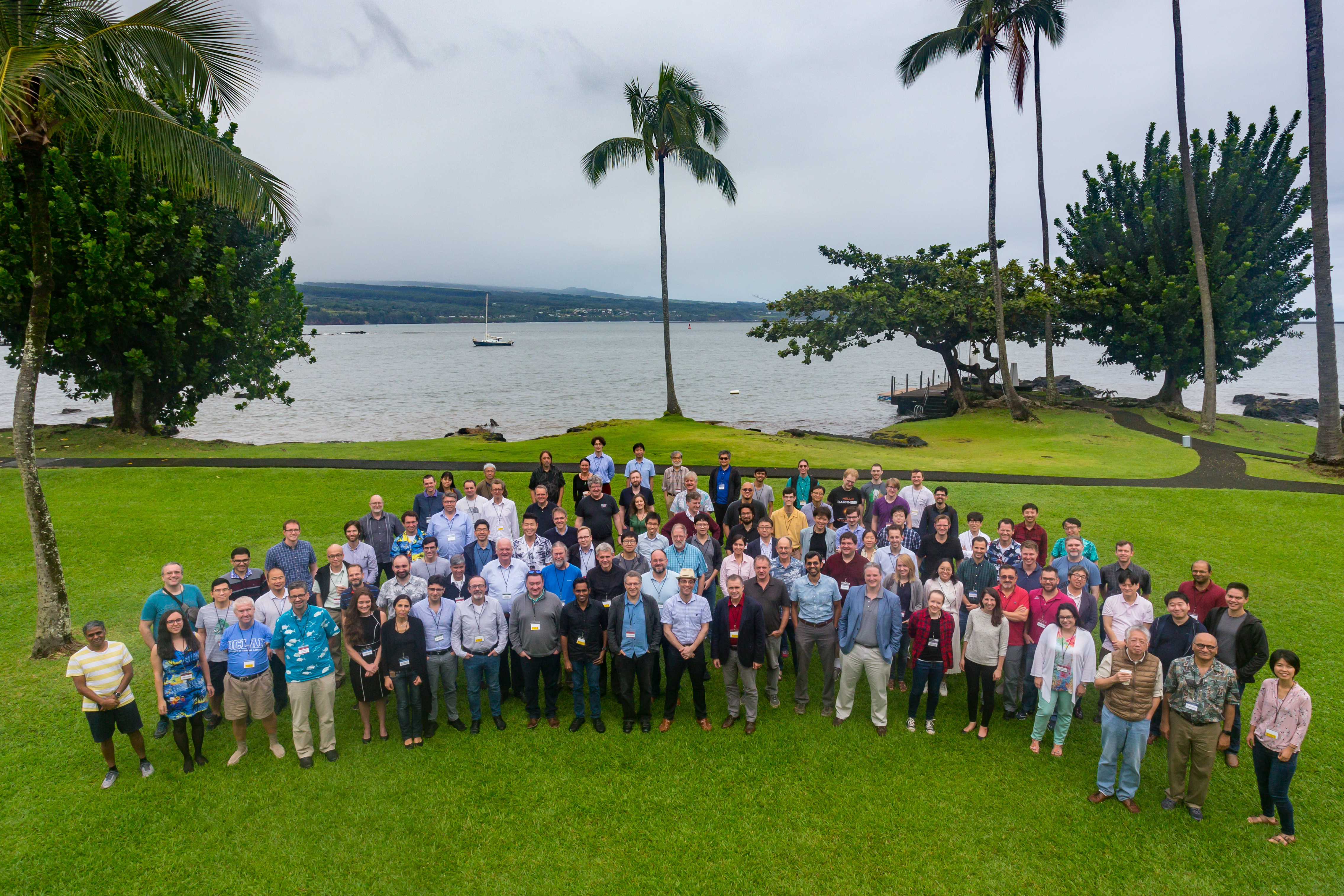 EHT collaboration team in Hawaii in 2019