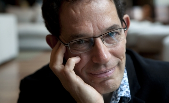 Close-up portrait of Neil Turok