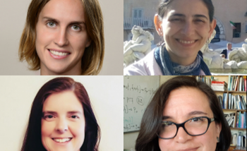 Portraits of the 2020 Emmy Noether fellows